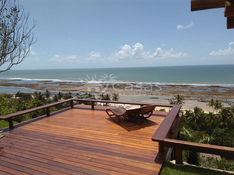 Casa Deck - Requinte vista mar